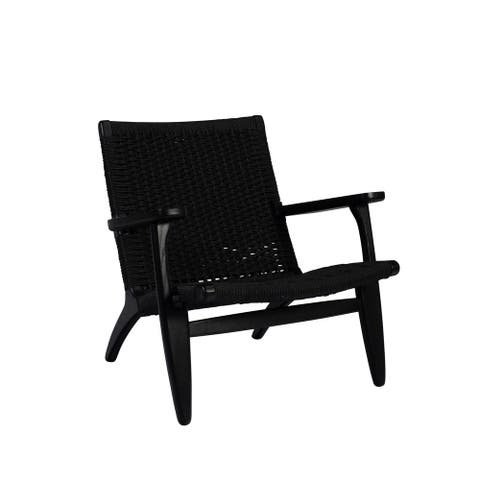 Papercord Easy Chair - Black
