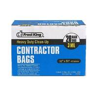 Frost King CB3250/50 Heavy Duty Contractor Bag, Black