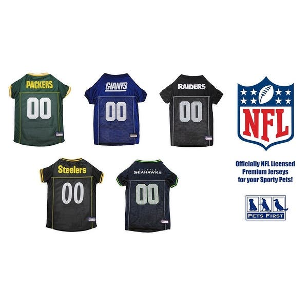 brand new e0451 0fc74 Shop Pets First NFL Premium Pet Jersey for Dogs & CATS ...