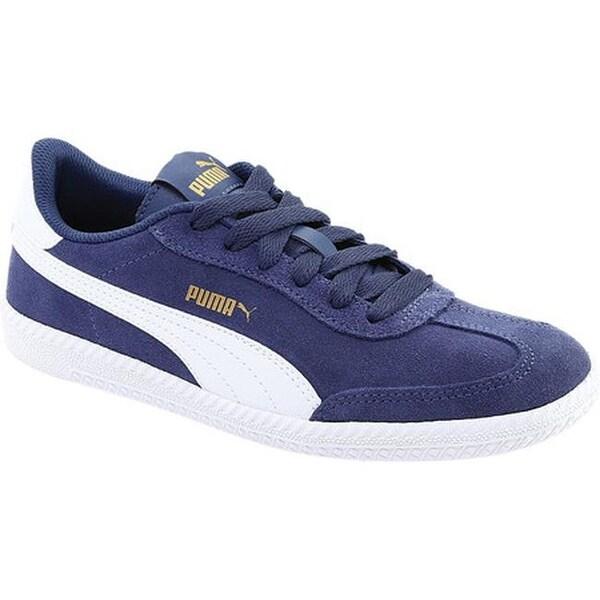 a49c68c27bd3 Shop PUMA Astro Cup Suede Sneaker Blue Indigo PUMA White - Free ...