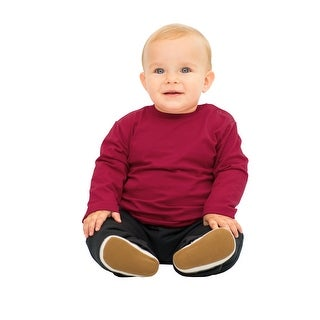 Pulla Bulla Baby Boy Long Sleeve Classic Tee Solid Shirt