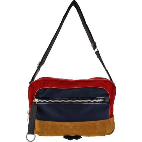 Marc by Marc Jacobs Womens Crossbody Handbag Canvas Colorblock - Medium