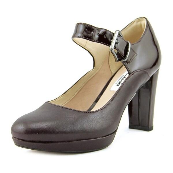 Clarks Narrative Kendra Gaby Women Round Toe Leather Mary Janes