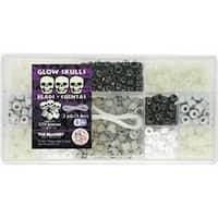 Glow Skulls - Bead Box Kit 6.25Oz