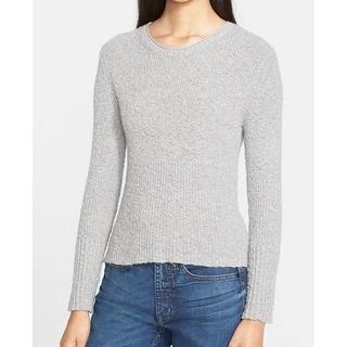 Helmut Lang NEW Gray Women's Size Medium M Crewneck Cashmere Sweater