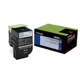 Lexmark 70C10k0 Black Return Program Toner