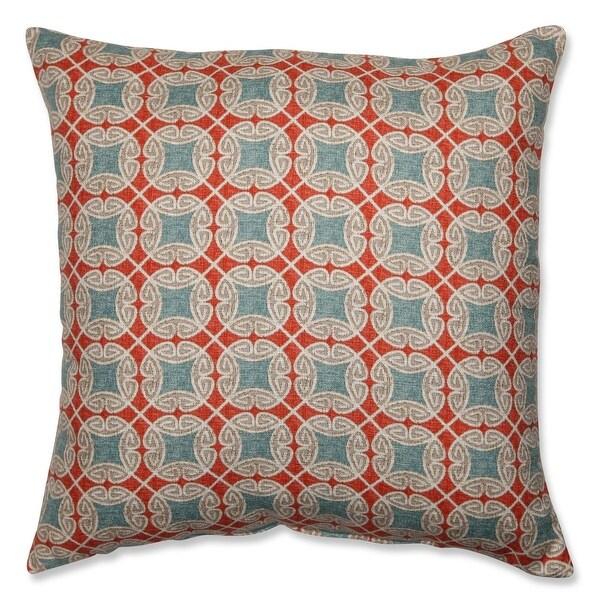 "24.5"" Ferrow Rectangular Geometric Pattern Decorative Throw Pillow"