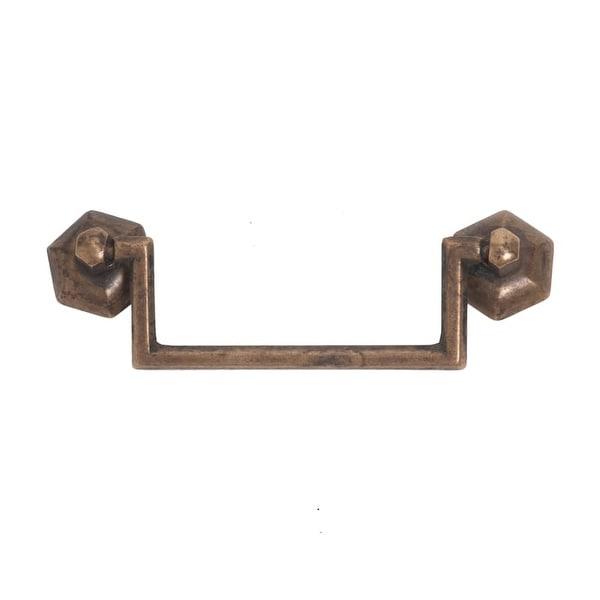 Bosetti Marella 100011 1800 Circa 3-3/4 Inch Center to Center Drop Cabinet Pull