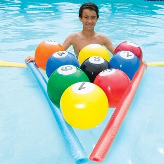 "8"" Blow-Up Billiards Inflatable Swimming Pool Water Game"