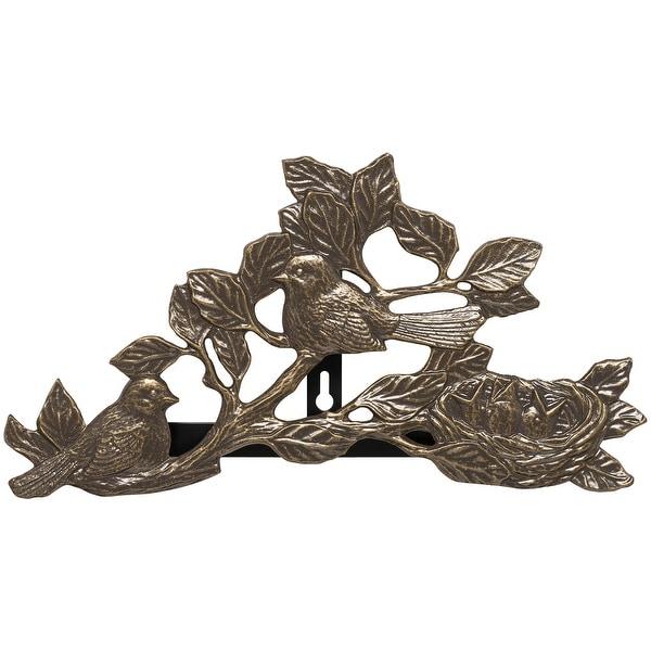 Whitehall Chickadee Hose Holder (French Bronze) - Bronze