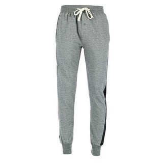 Hanes Men's French Terry Jogger with Side Stripes