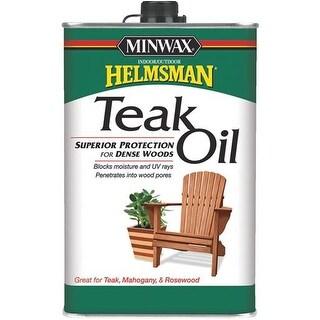 Minwax Teak Oil Finish 671004444 Unit: QT