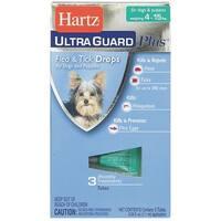 Hartz Mountain 4-15Lb Hug Pls F&T Drps 98206 Unit: EACH