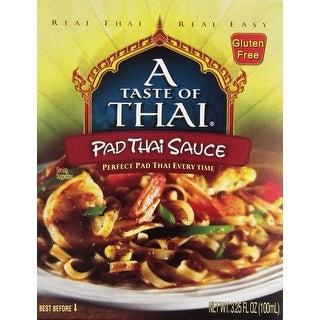 Taste of Thai Pad Thai Sauce - 3.25 oz - Case of 6 - 2 Pack