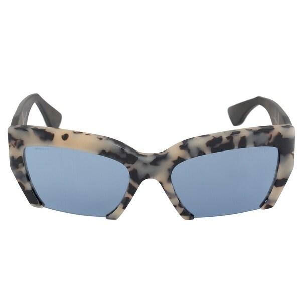 cf06baf057da Shop Miu Miu Butterfly Sunglasses SMU11OS HAO4N0 56