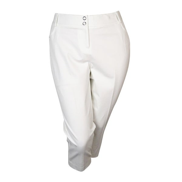 Alfani Women's Comfort Waist Capri Pants