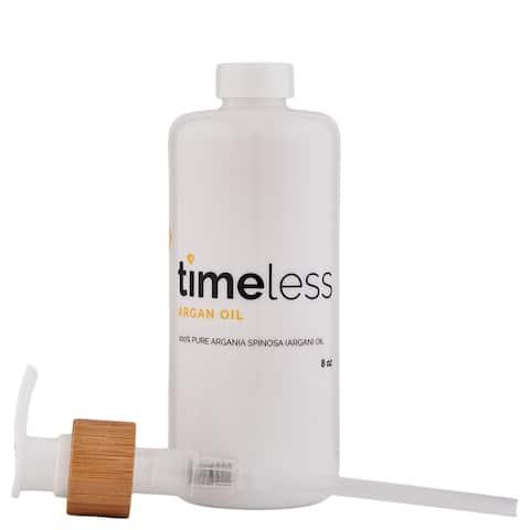 Timeless Skin Care Argan Oil 100% Pure 8 oz - 8 Oz.