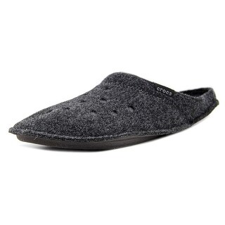 Crocs Classic Slipper Men  Round Toe Canvas Gray Slipper