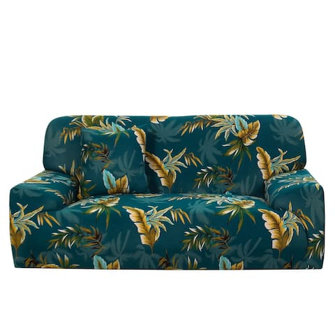 Floral Sofa Cover Stretch Thick Slipcover Couch Covers