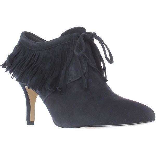 Bella Vita Diem Dress Heel Booties, Navy