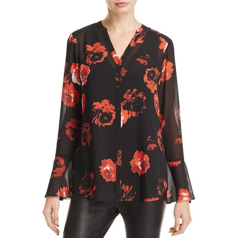 Foxcroft NYC Womens Ali Blouse Office Wear Special Occasion