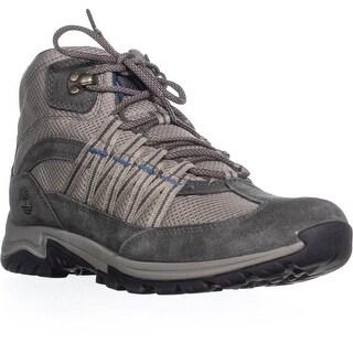 Timberland Mt Maddsen Lace-Up Hiking Boots, Light Gray/Medium Gray - 11 us / 42 eu
