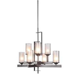 Craftmade 39318 Mod 8 Light Chandelier - 30 Inches Wide