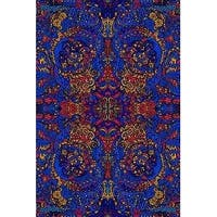 Handmade 3D Psychedelic Liquid A 100% Cotton Tapestry Tablecloth Coverlet 60x90