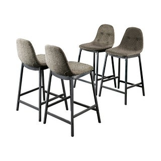 Link to Furniture of America Brno Mid-Century Grey Counter Chairs Set of 4 Similar Items in Dining Room & Bar Furniture