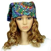 Handmade Grateful Dead Terrapin Dance 100% Cotton Bandana Scarf Headscarf 23x23