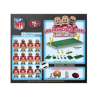 San Francisco 49ers NFL OYO Figure and Field Team Game Time Set