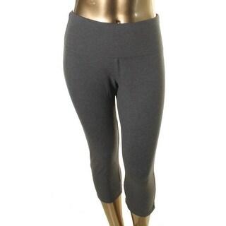 RBX Womens Plus Capri Pants Tummy Slimming Shaping