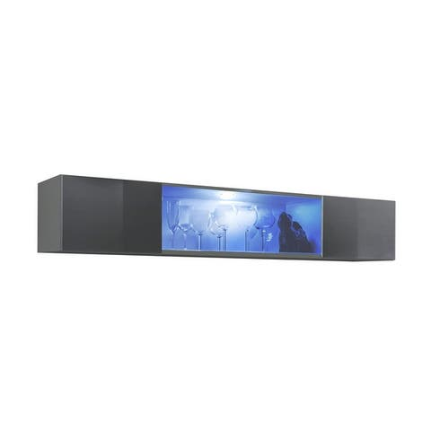 Strick & Bolton Hadi Wall-mounted Media Cabinet