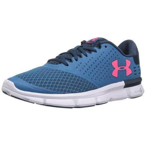 uk availability f1dc6 edd64 Under Armour Womens Speed Swift 2 Low Top Lace Up Running Sneaker