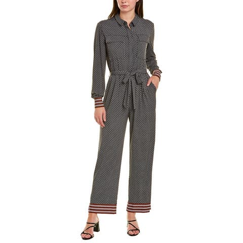 Donna Morgan Belted Jumpsuit