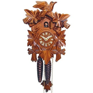 Sternreiter German Hand Carved Cuckoo Clock with One-Day Movement 1200