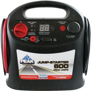 Peak PKC0J6 Automatic Battery Jump Starter, 600 amps