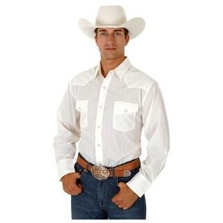 Roper Western Shirt Mens L//S Dobby Stripe Snap 01-001-0145-0619 GY