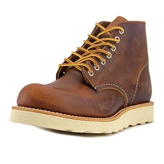 """Red Wing Shoes 6"""" Beckman Youth  Round Toe Leather Burgundy Boot"""