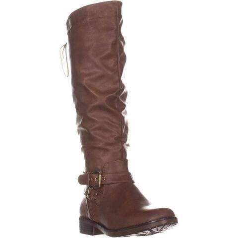 Xoxo Womens Montclair Closed Toe Knee High Fashion Boots