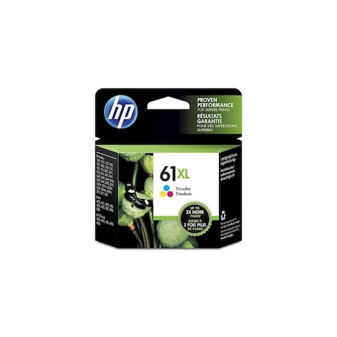 HP 61XL Ink Cartridge, Tri-color High Yield (CH564WN)