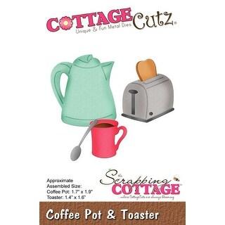 """Coffee Pot & Toaster; 1.4"""" To 1.9"""" - Cottagecutz Die"""