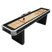 Atomic 9 ft. Platinum Shuffleboard Table with Pedestal legs / Model M01702AW