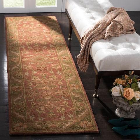 Safavieh Handmade Golden Jaipur Tomika Traditional Oriental Wool Rug