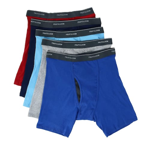 43d025b63 Fruit of the Loom Men s Coolzone Mesh Fly Boxer Brief (5 Pack)