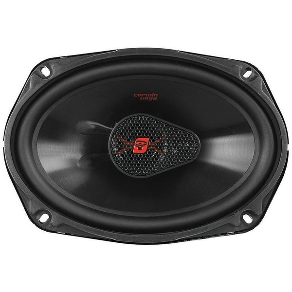 "Cerwin Vega HED Mobile Series 6x9"" 3-Way Coaxial 420W Max Speaker"