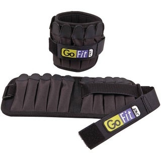 Gofit Padded Adjustable Pro Ankle Weights