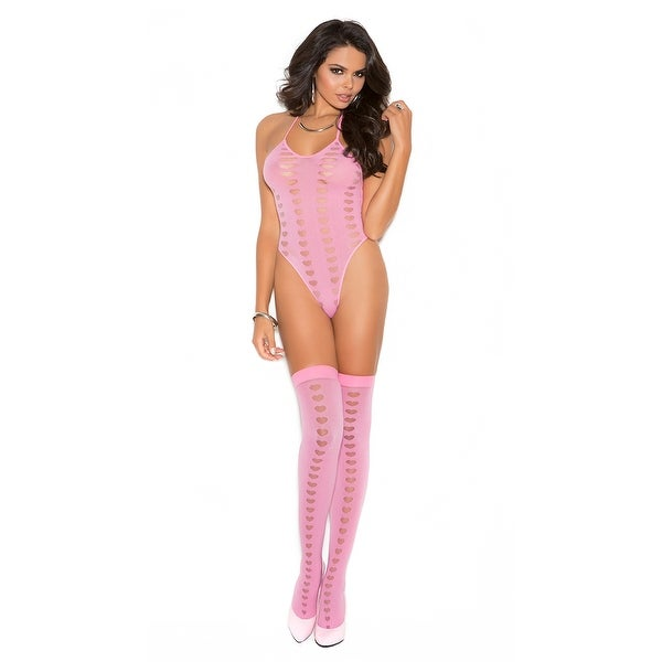c62c3ed1bf7 Shop Love Me Pink Teddy And Stockings