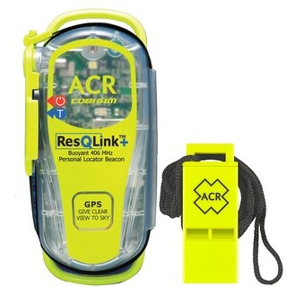 """""""ACR PLB Rescue Kit PLB-KIT4 PLB Rescue Kit 2881 ResQLink 406 MHz GPS PLB Floats without Pouch"""""""