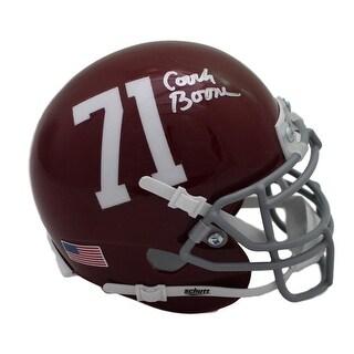 Herman Boone Autographed Remember the Titans TC Williams Mini Helmet JSA